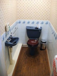 Reception Toilet