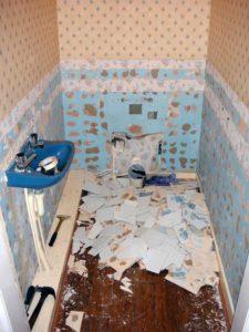 Reception Toilet Refurb