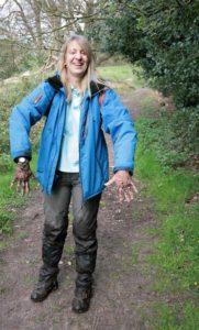 Helen muddy