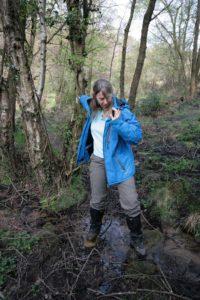 Helen in stream