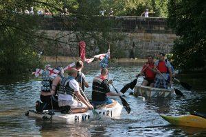 Oakamoor Raft Race