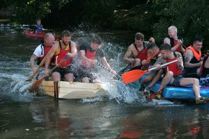 Oakamoor Raft Race