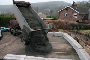 Sinkhole Ash Delivery