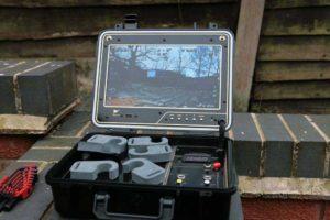 Drone camera monitor