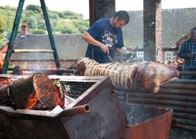 Oakamoor Festival Hog Roast
