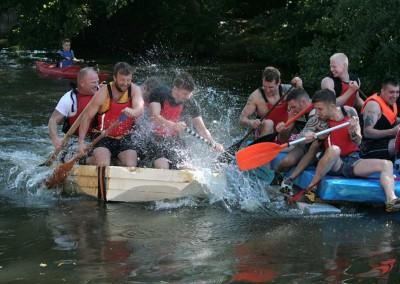 Oakamoor Festival Raft Race
