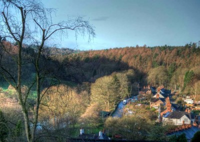 View from The Laurels down the valley