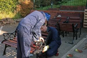 Garden furniture overhaul