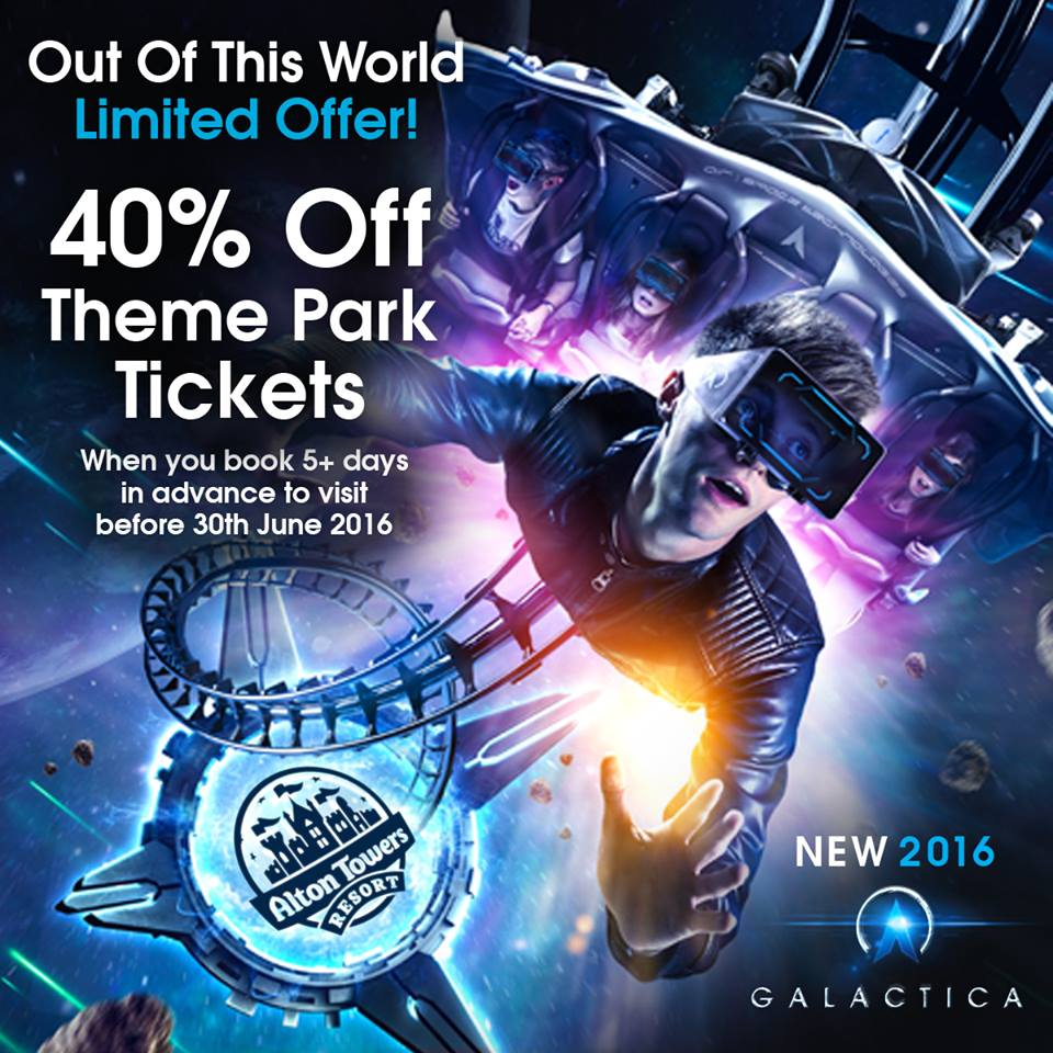 Alton towers 40 percent off