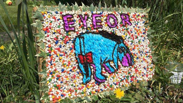 Eyeore Tissington Well Dressing