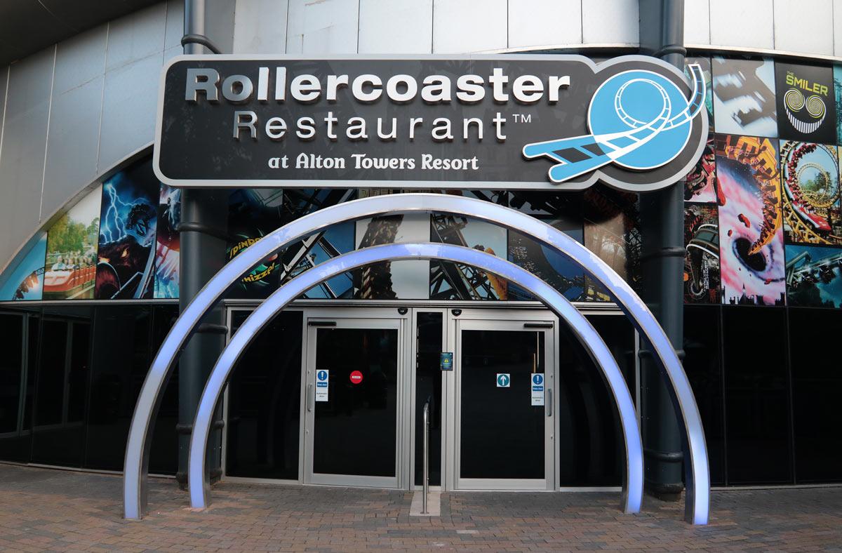 Alton Towers Roller Coaster Restaurant