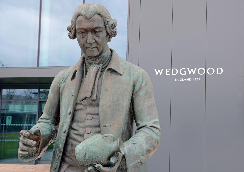 Josiah Wedgwood statue