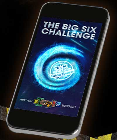 Alton Towers Big 6 Challenge