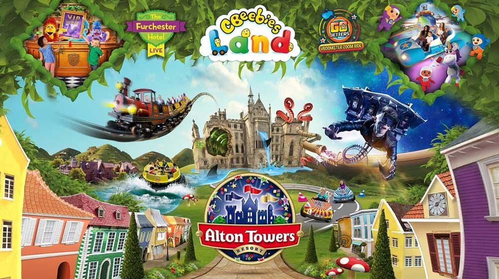 Where is Alton Towers?