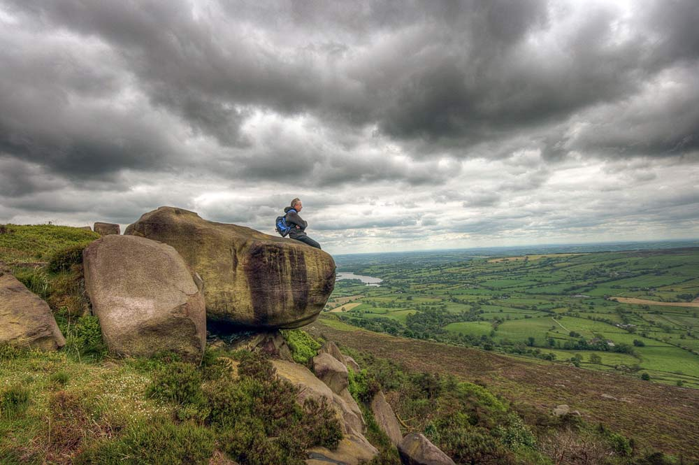 Phil at The Roaches