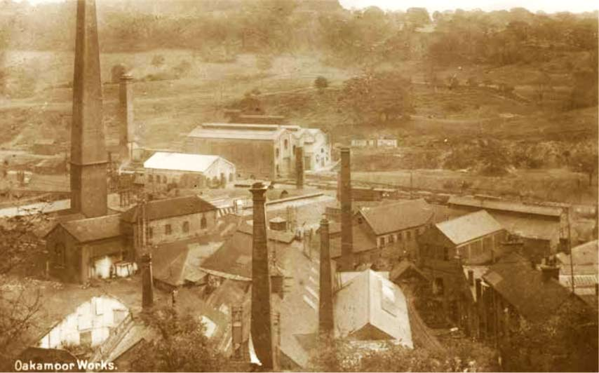 Bolton's Copper Works at Oakamoor in 1920