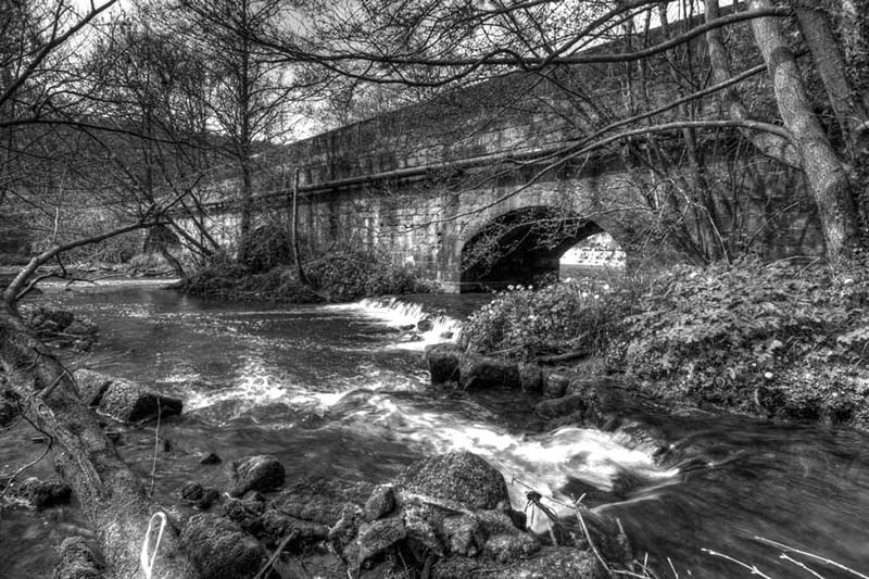 Oakamoor Churnet Bridge