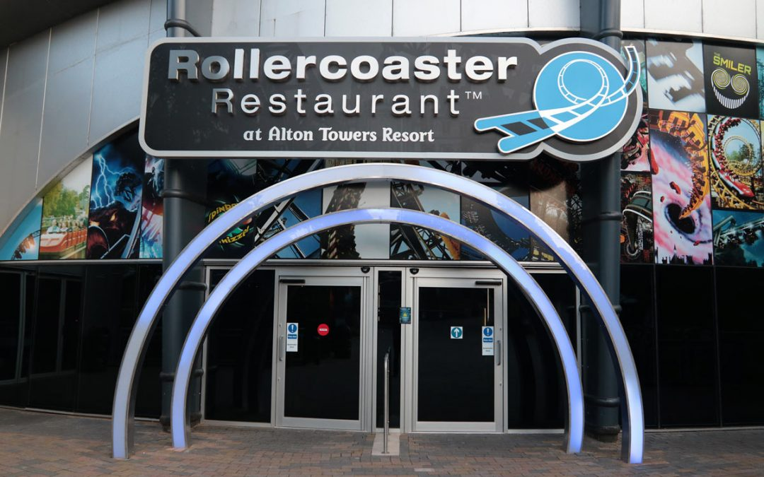 Alton Towers Roller Coaster Restaurant Review