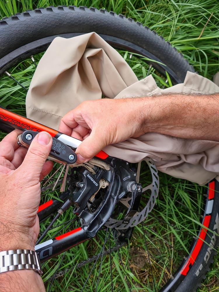 Bike repairs
