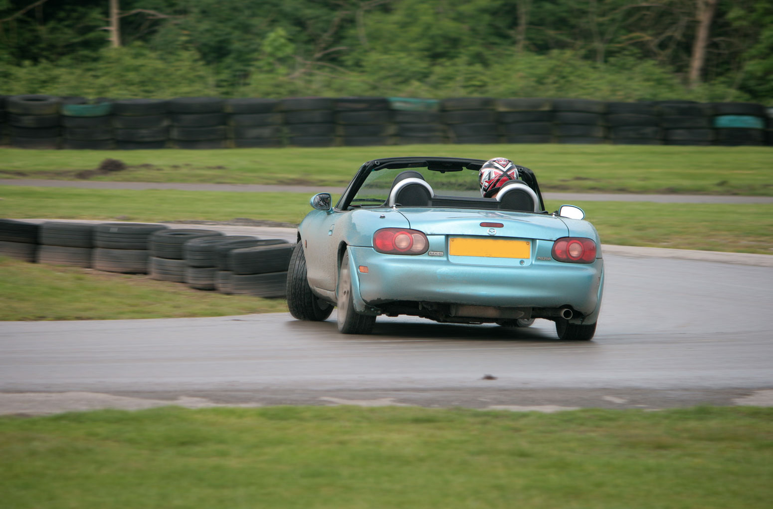 Drifting at Oulton Park